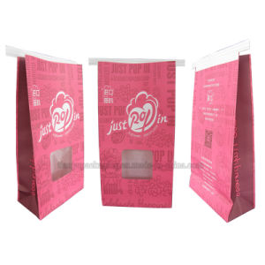 Resealable Stand up Paper Pouch with Tin Tie and Window pictures & photos