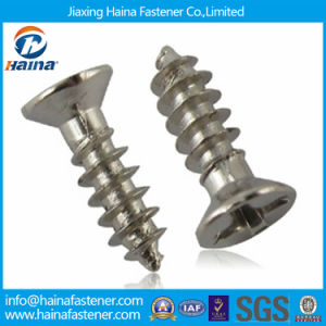 Stainless Steel Countersunk Self Tapping Micro Screw pictures & photos