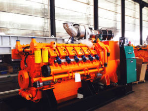 50Hz 547kw Googol Genset Use Gas Electric Power Engine pictures & photos