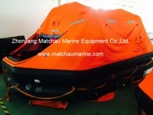 Solas GRP Contained Davit Launched Self Blance Inflatable Liferaft pictures & photos