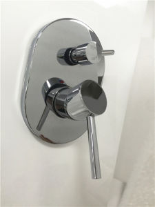 Watermark Approved in Wall Brass Bathroom Shower Faucet (HD521) pictures & photos