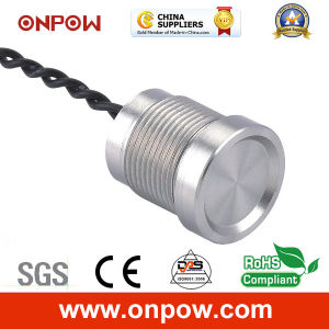 Onpow 16mm Piezoelectric Switch with Finger Location (PS165Z10YSS1, CCC, CE) pictures & photos