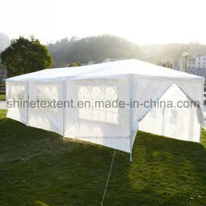 White 10X10 FT Easy Pop up Wedding Party Tent with Side Walls pictures & photos