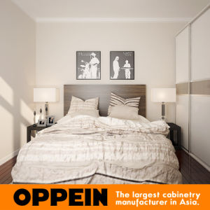 Oppein High Quality Wooden Bedroom Bed (CH11011A150) pictures & photos