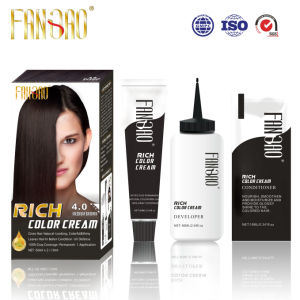 Long Lasting Shiny Colorful Natual Looking Rich Hair Color Dye