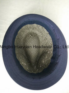 Kids Hand Woven Fefora Straw Hat pictures & photos