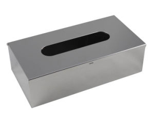 Stainless Steel Hotel Rectangle Tissue Box pictures & photos