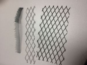 Diamond Hole Flattend Expanded Metal Mesh Expanded Stretched Plate China Factory pictures & photos