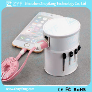 All-in-One 3G WiFi Wireless Travel Adapter with USB Outlet (ZYF9012) pictures & photos