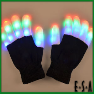 2015 Unique Rainbow Flashing LED Xbone Gloves, Interesting Halloween LED Gloves, Wholesale Cheap LED Finger Light Gloves G15A105 pictures & photos