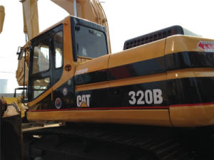 Used Caterpillar Excavator Cat 320b Construction Machinery for Sale