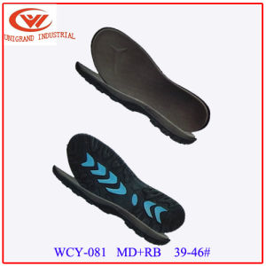 Newest Style Summer Sandals Outsole Outdoor Beach Sole with EVA and Rb Material pictures & photos