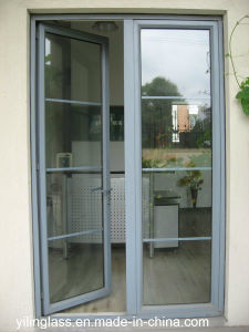 Simple Classic Aluminum Casement Door pictures & photos
