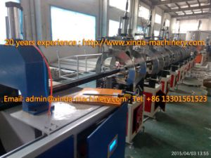 PVC Imitation Marble Decoration Profile Production Line Profile pictures & photos