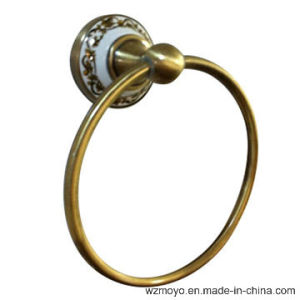 Colored Bronze Finish Towel Ring for The Bathroom pictures & photos