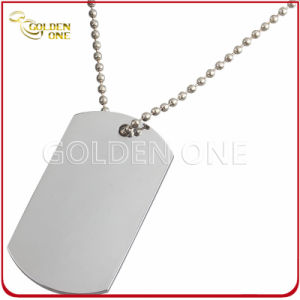 Hot Selling Chrome Plated Printable Metal Dog Tag pictures & photos