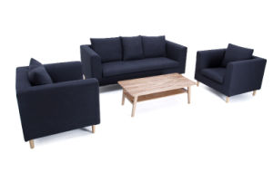 modern living room 3 seater popular fabric sofa set pictures & photos