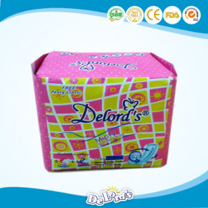 Comfortable and Breathable Ultra Thin Lady Sanitary Napkin pictures & photos