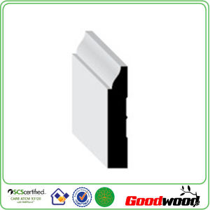 Wood Moldings Finger Jointed Laminated Door Casing