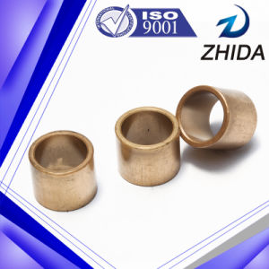 High Percision Big Size Cylindrical Type Iron Based Sintered Bushing pictures & photos