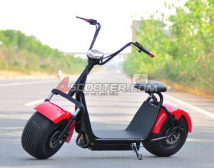 Fashion City 800W 60V Electric Motorcycle for Adult pictures & photos