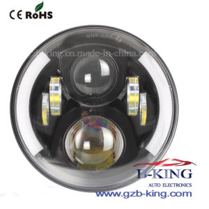5.75′′ 40W Round LED Head Light for Wrangler pictures & photos