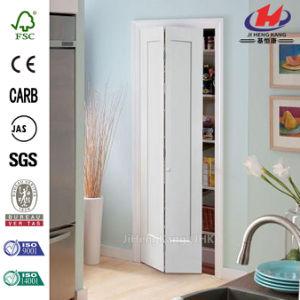 Solid Wood Closte Bi-Fold Door pictures & photos