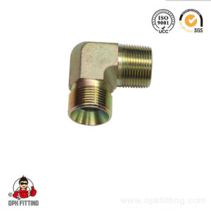 90 Deg Elbow BSPT Female Hydraulic Adapters Number: 7t9-Pk pictures & photos
