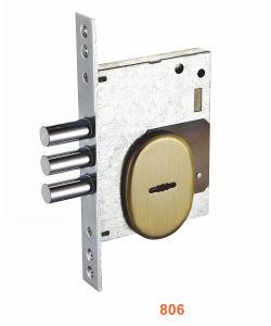 Iron/Zinc Safe Door/Security Door Lock (806) pictures & photos