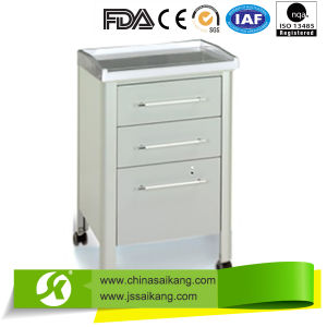 Hospital ABS Bedside Cabinet, Medical Cabinet pictures & photos