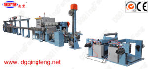Photovoltaic Halogen-Free High Frequency Cable Extrusion Line pictures & photos