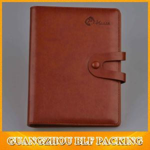 Leather Cover Notebooks/Diary Notebook/Office Notebooks (BLF-F046) pictures & photos