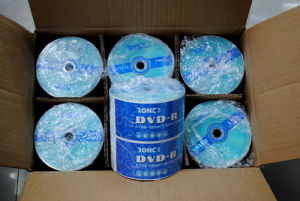 Factory Wholesale Shrinkwrap Package Single Layer 16X Blank DVDR pictures & photos