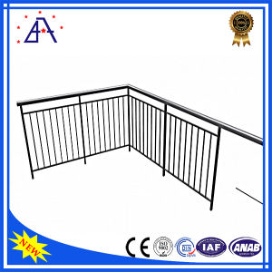 OEM Factory Wholesale Anodized Black Aluminium Fence/Handrails/Fencing pictures & photos