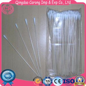 Disposable Medical Sterile Cotton Swab Wooden Stick Cotton Swab pictures & photos