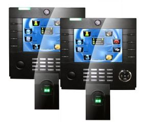 8 Inch Color TFT TCP/IP Biometric Fingerprint Time Attendance System with Backup Battery pictures & photos
