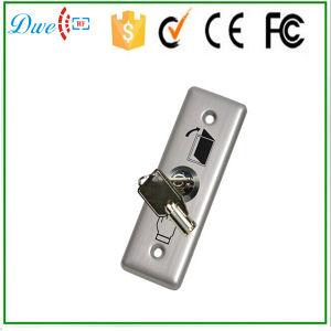 Stainless Steel Key Switch Push Button Switch 12V pictures & photos