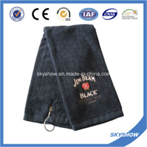 100% Cotton Embroidered Golf Towel (SST1021) pictures & photos