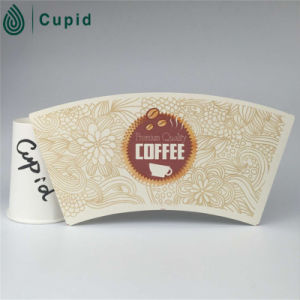 Hztl (BRC, FSC, ISO, FDA, SGS) Custom Printed 12 Oz Paper Hot/Cold Drink Cup with Lid pictures & photos