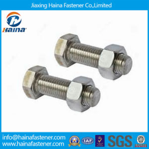 Stainless Steel A2-70 Hex Bolt with Hex Nut in Stock pictures & photos