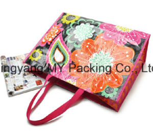 Custom Print Promotion Lamination PP Woven Bag (my07182) pictures & photos