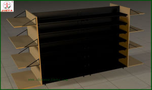 Economic Double Sided Wooden and Steel Shelf (JT-A30) pictures & photos