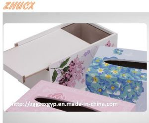 Napkin Box Wooden Napkin Box Tissue Box Creatively Crafts Cx-Tb06 pictures & photos