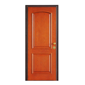 Steel Frame Wooden Door/Room Door pictures & photos