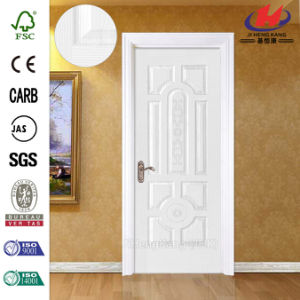 Smooth Whiter Primer MDF Embossed Wooden Door pictures & photos