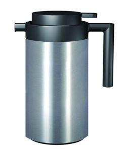 Stainless Steel Coffee Pot with Glass Refill for Home pictures & photos
