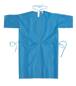 Xiantao Hubei MEK Non Woven Isolation Gown pictures & photos