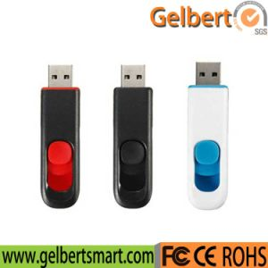 Best Price Push-and-Pull USB Flash Disk for Gift pictures & photos