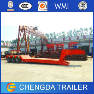 60 Ton Hydraulic Lowbed Trailer with Detachable Gooseneck pictures & photos