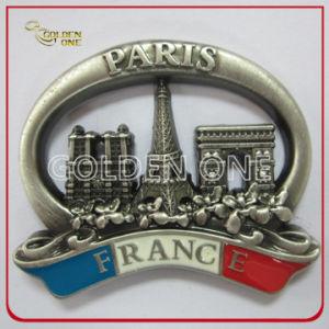 High Quality 3D Soft Enamel Souvenir Metal Fridge Magnet pictures & photos